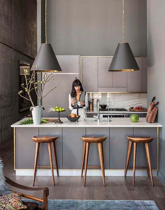 Grey Small Kitchen Ideas