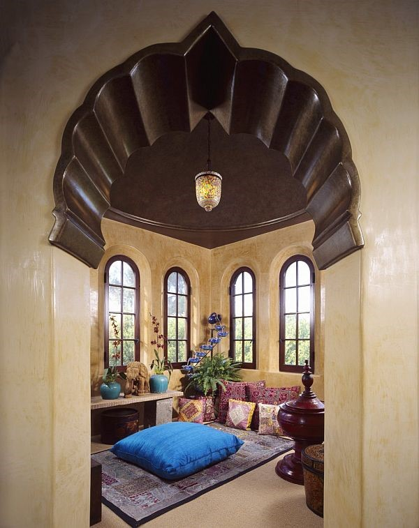 arabian small living room
