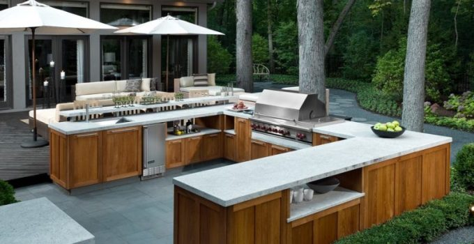outdoor kitchen grills ideas