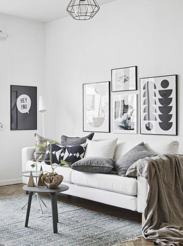 wall decor small living room