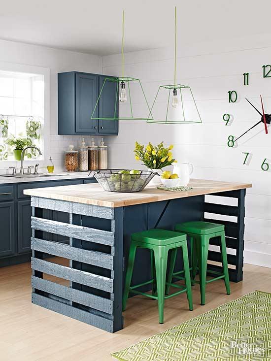 kitchen island DIY