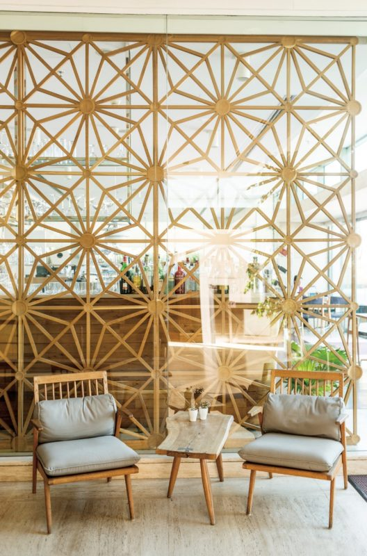Decorative Perforated Screen Room Divider Ideas