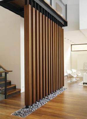 Vertical Lines Room Divider Ideas