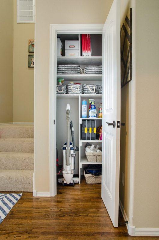 cleaning closet organization ideas