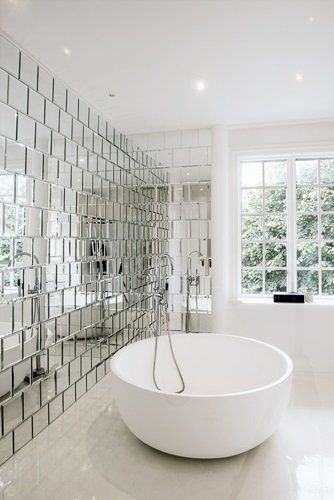 mirror bathroom tiles ideas
