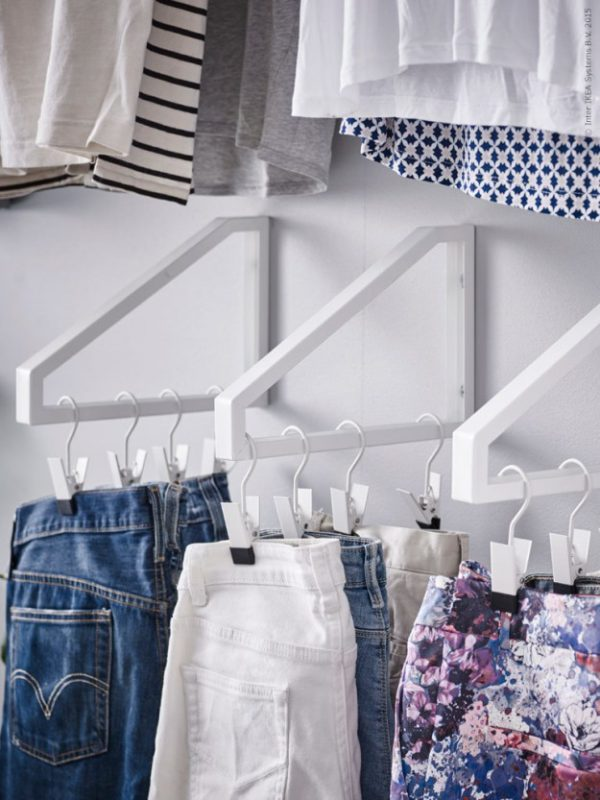 narrow closet organization ideas