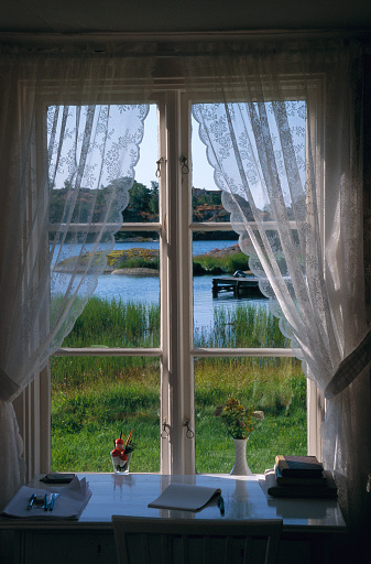 sheer window treatment ideas