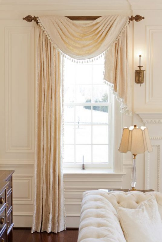 traditional window treatment ideas
