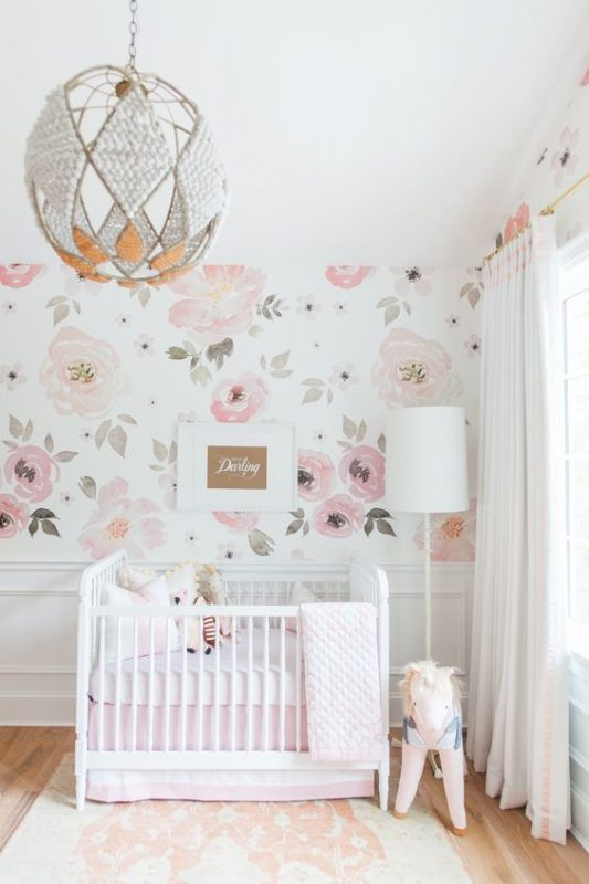Baby Girl Nursery Decor baby girl room decor