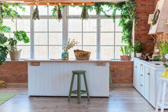 Green Stuff for Kitchen Decorating Ideas