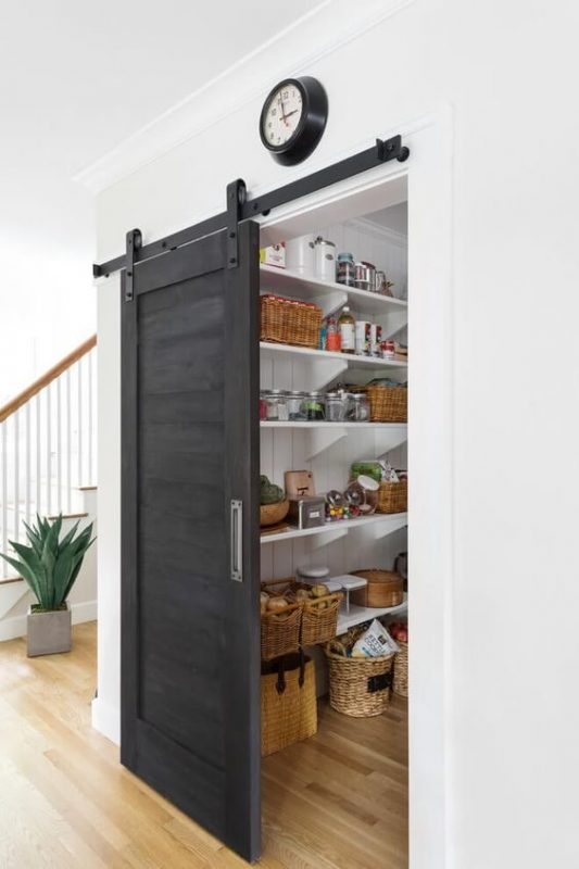 Chalkboard Door Pantry