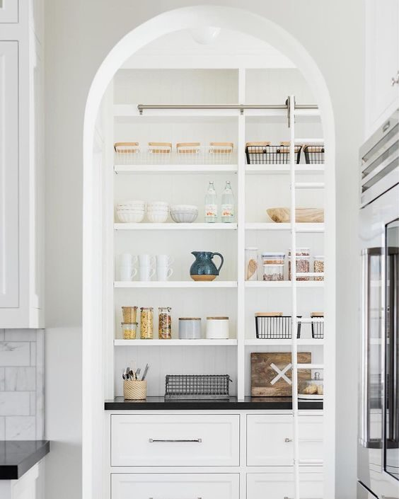 Sliding Kitchen Pantries