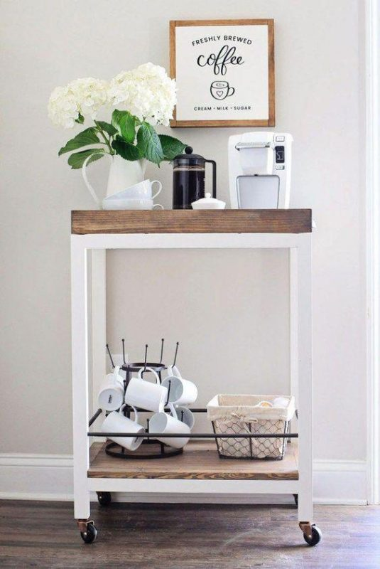 Simple and Easy Coffee Bar