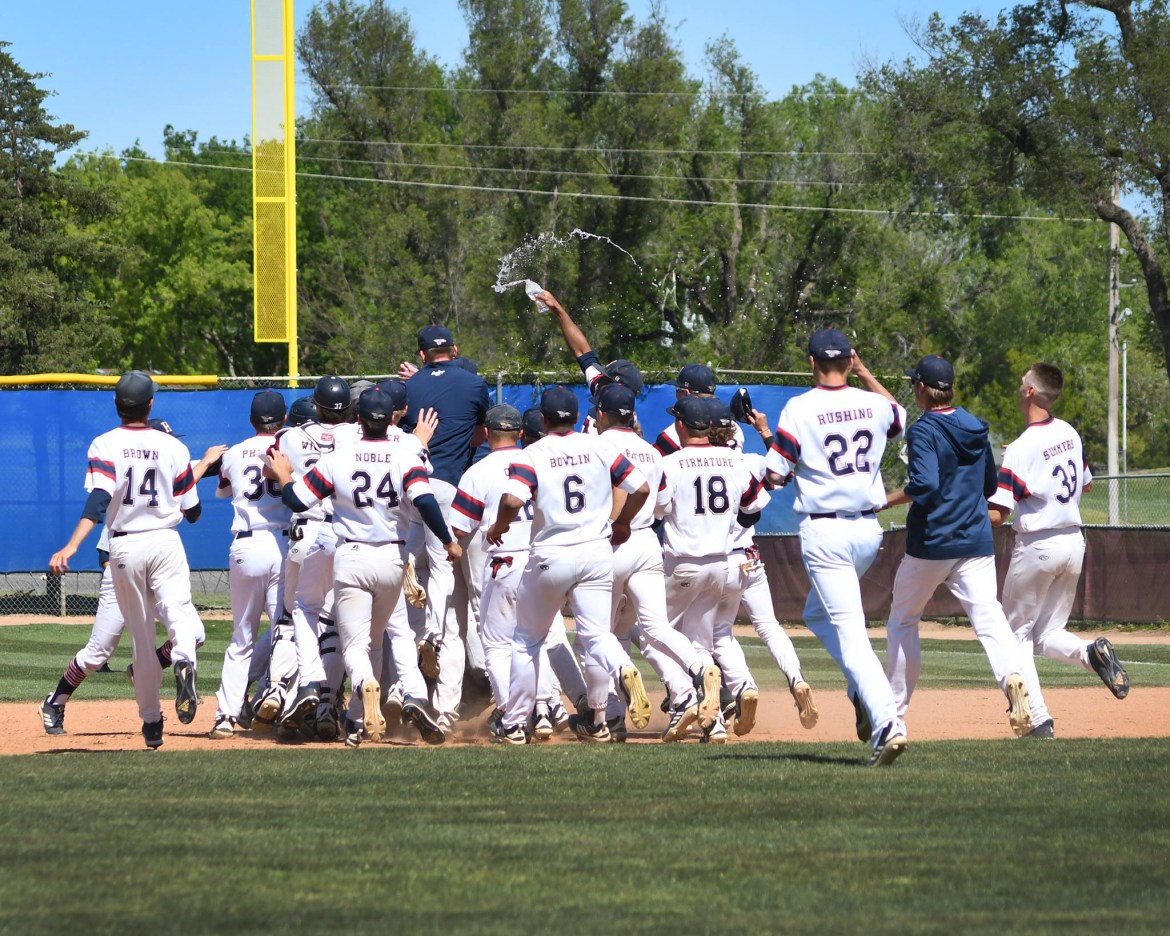 Sports roundup: Baseball team on brink of conference title