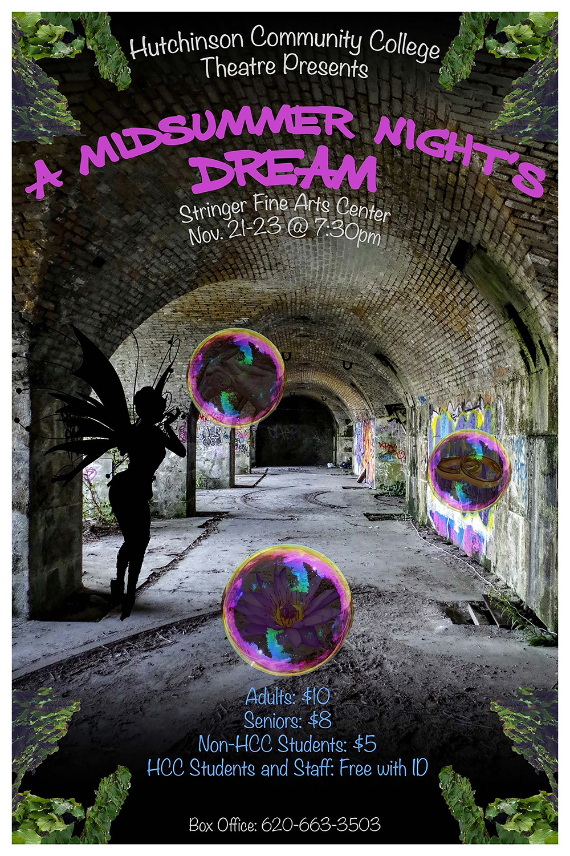 Theater department to present 'Midsummer Night's Dream'