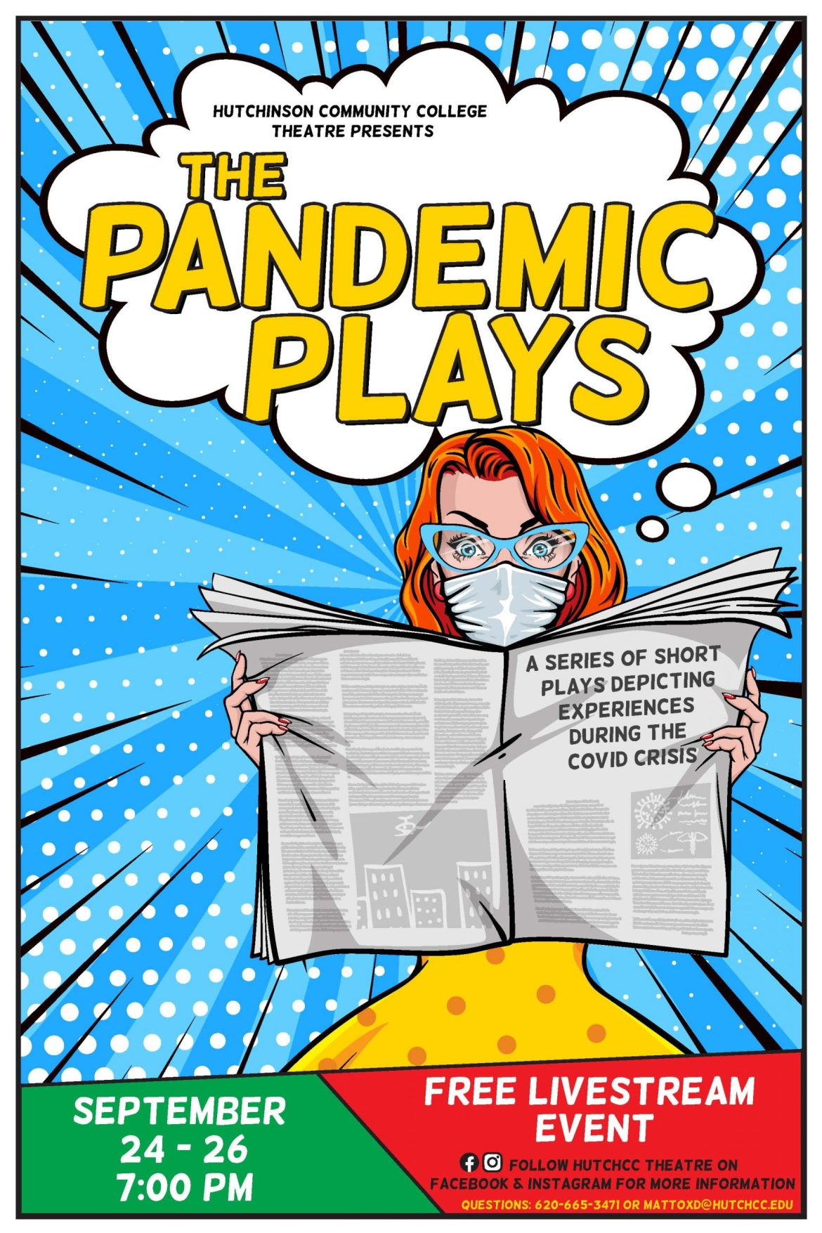 The show must go on – Theatre department Zooming in on 'Pandemic Plays