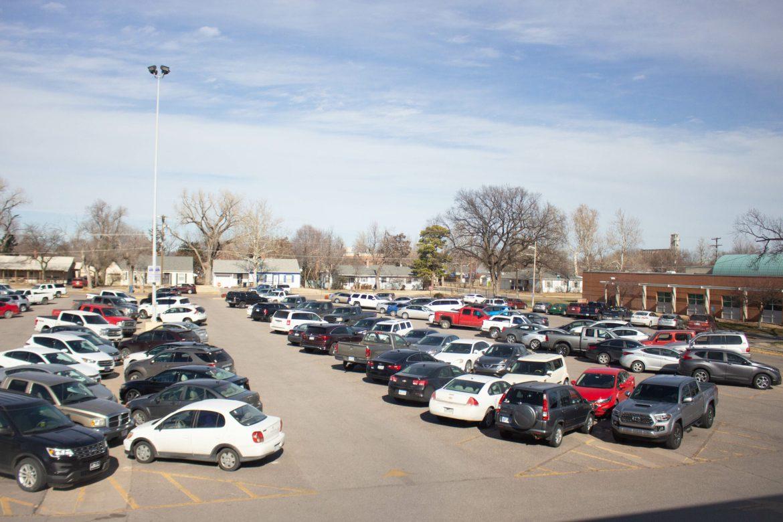 Parking dilemmas around campus