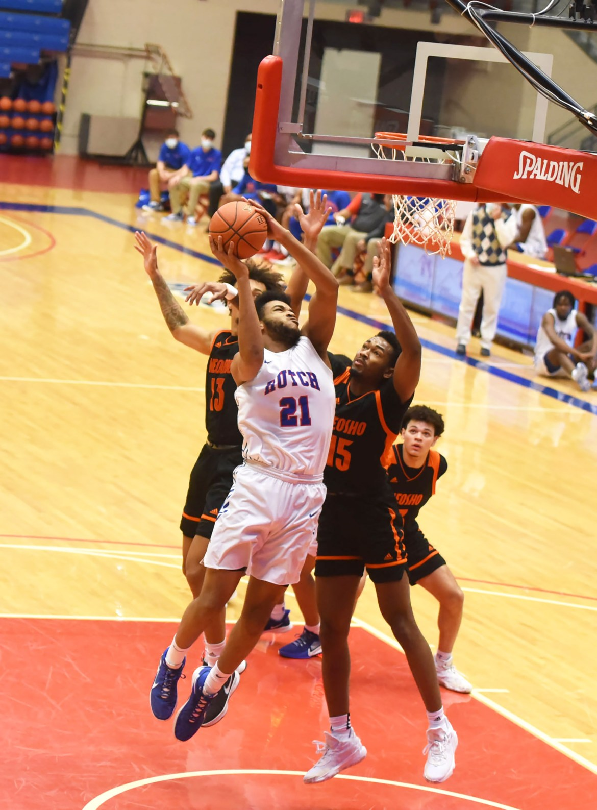 Mayers playing at a high level for Blue Dragons