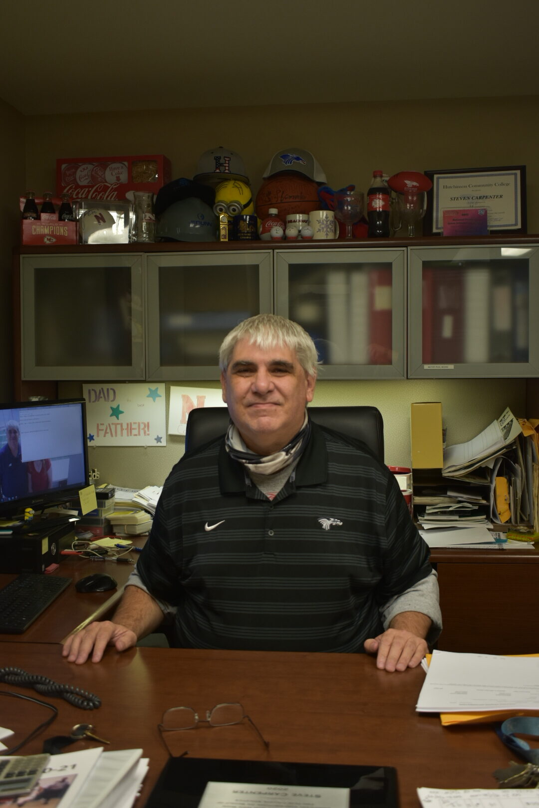 The crazy life of Carp: HutchCC Sports Information Director has much on his plate