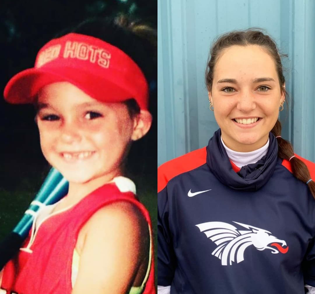 Born tiny, HutchCC softball player 'Dink' is in a league of her own