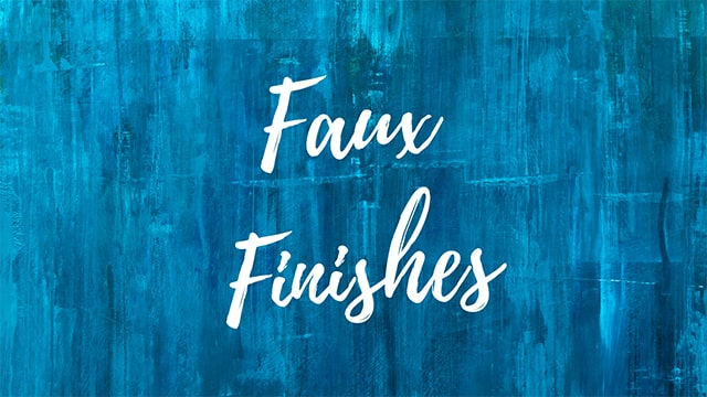 Faux Finish at Hutch-n-Son Painting and drywall