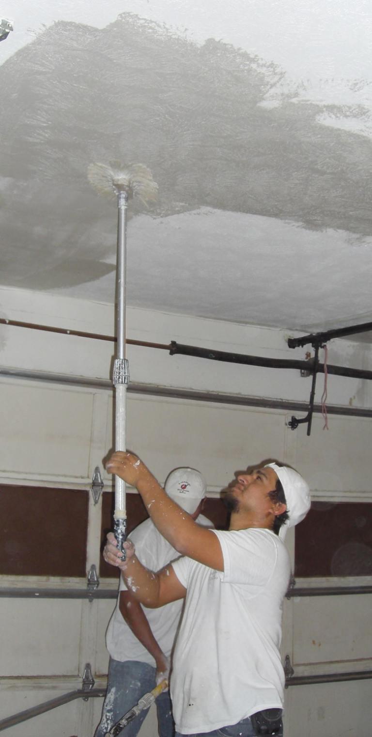 drywall retexture