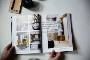 Published Droomhuis magazine - Interior photography