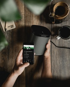 Concept photography Sonos with Spotify - Product photography