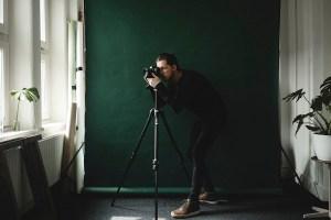 Jurriaan Huting in Studio Huting.net Nijmegen