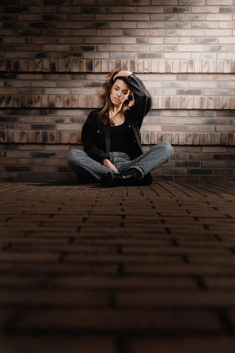 model portretfotografie portret lifestyle Lookbook Tess Mirani - Portrait photography