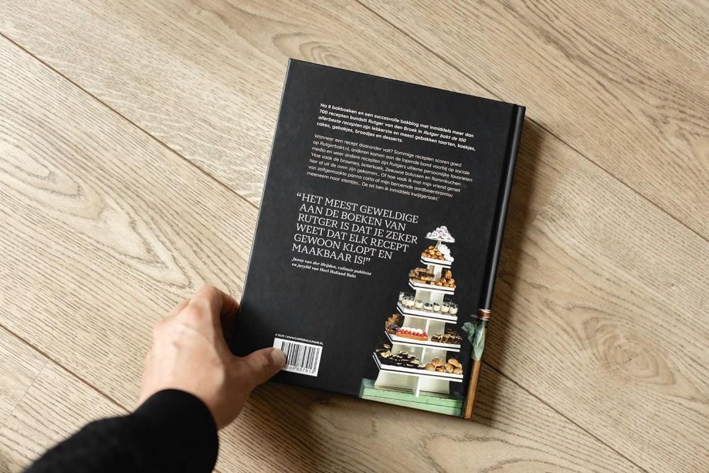 Jurriaan Huting Huting.net fotograaf Food fotografie Nijmegen Fotoshoot | Cover kookboek 'Rutger bakt de 100 allerbeste recepten' Rutger van den Broek Hilversum Heel Holland Bakt Carrera Culinair Uitgeverij Carrera - Overamstel uitgevers