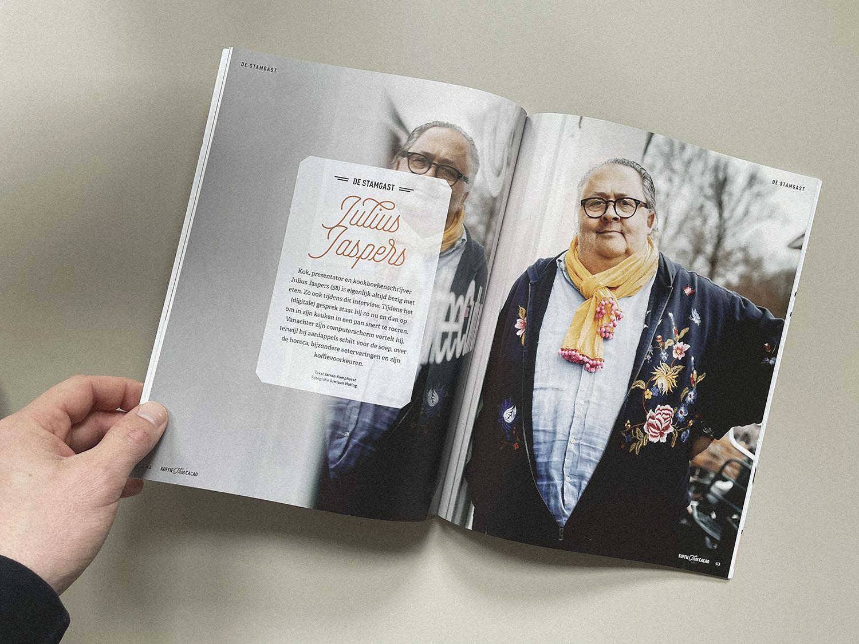 Fotoshoot Julius Jaspers | KoffieTcacao magazine