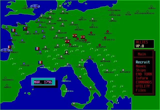 Wars of Napoleon Screenshot