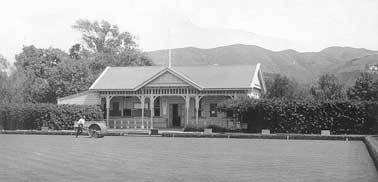 The old bolwing club pavilion