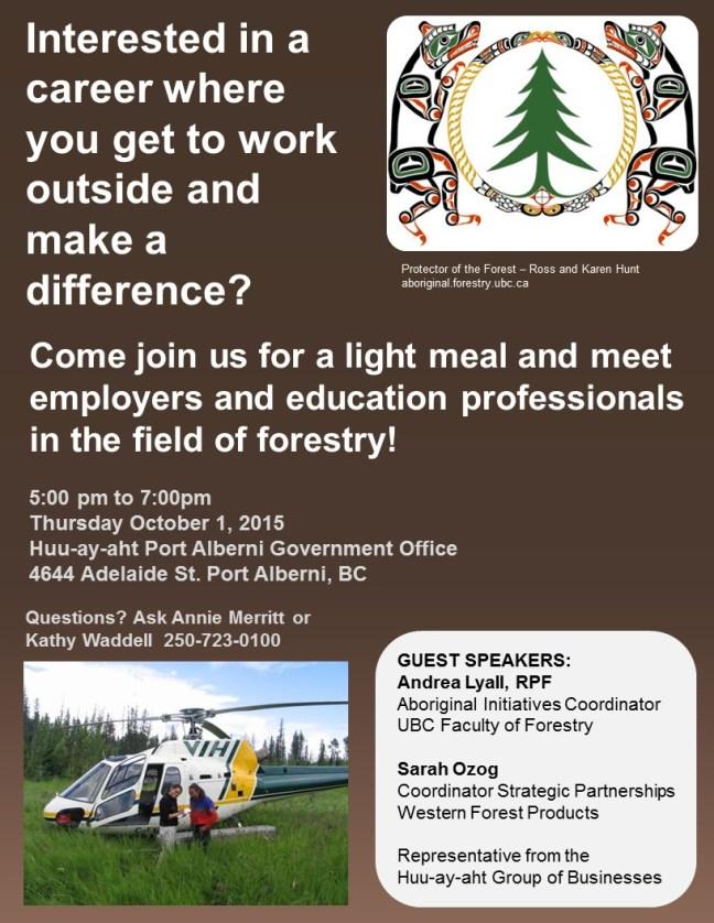 UBC forestry POSTER Huu-ay-aht - britt