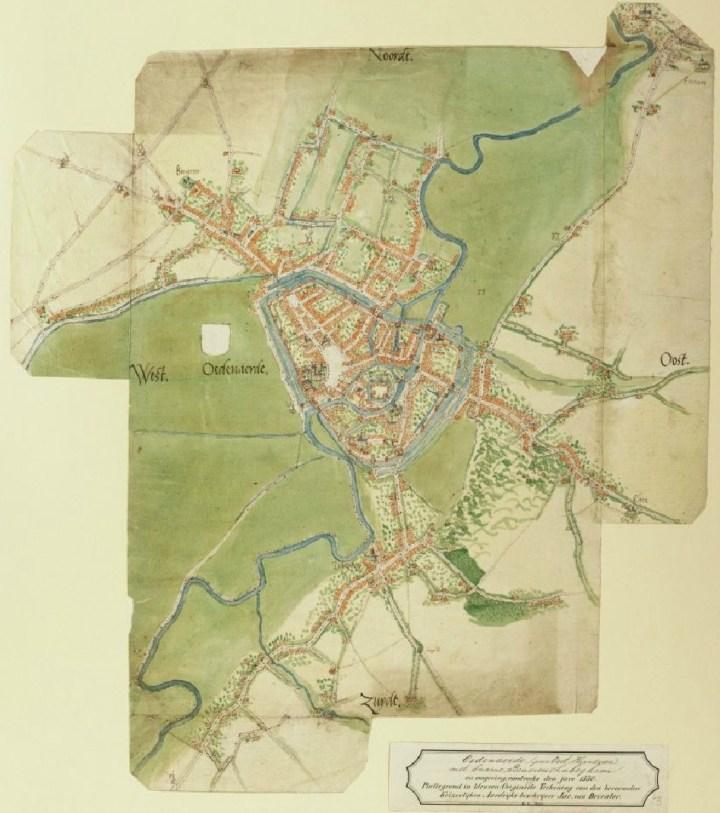 Minuut van Oudenaarde - Jacob van Deventer (1563)