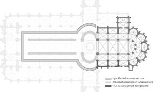 De Kathedraal van Antwerpen, Gotische fase (1352-1413)