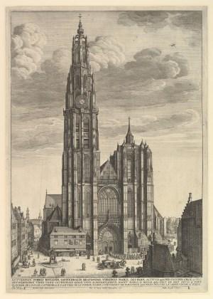 Onze-Lieve-Vrouwkathedraal omstreeks 1649