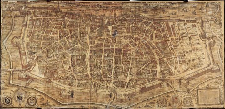Bononiensis - Plan van Antwerpen (1565)