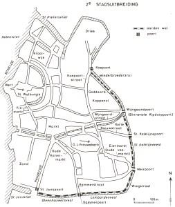 2de stadsuitbreiding