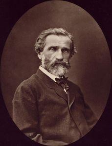 Verdi omstreeks 1870, door Étienne Carjat