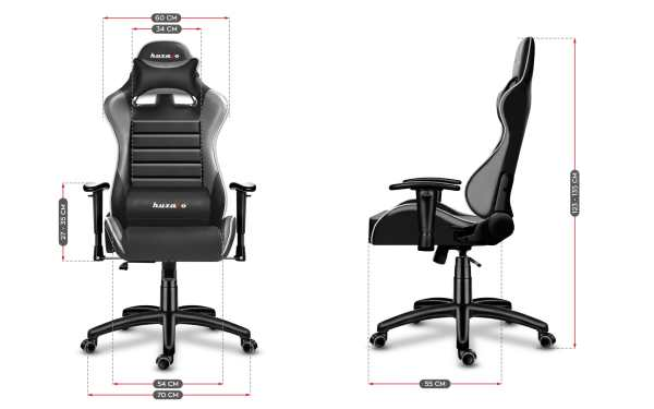 Gaming chair Force 6.0 grey12