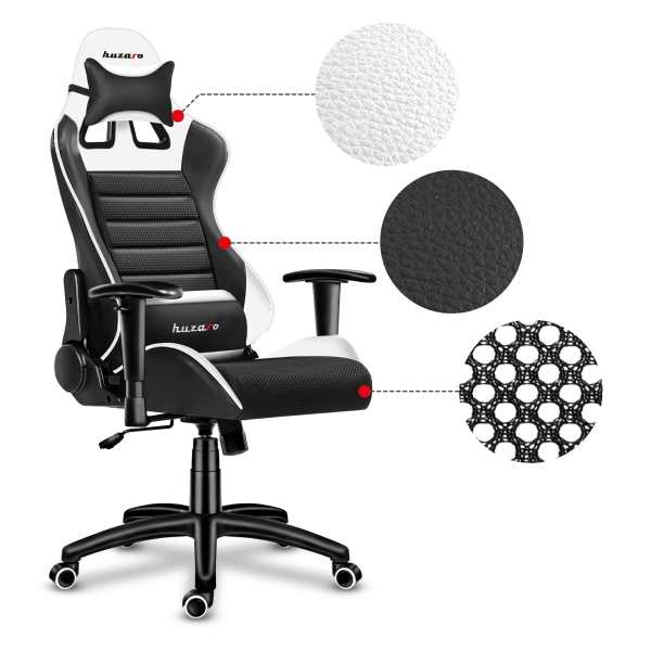 Gaming chair Force 6.0 white2