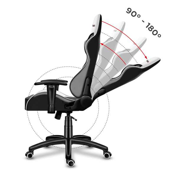 Gaming chair Force 6.0 white6