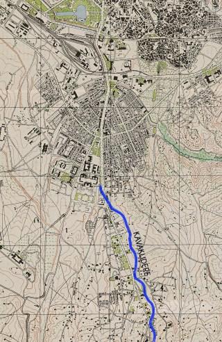1940'lar – Ankara Haritası ve Kavaklıdere