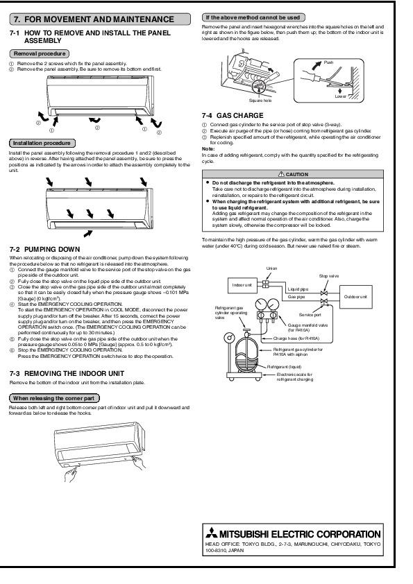 Charming Mitsubishi Ductless Split System Wiring Diagram ...