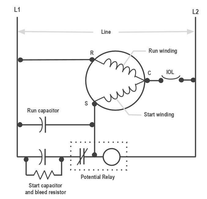 potential relay archives hvac school HVAC Fan Relay Wiring Diagram