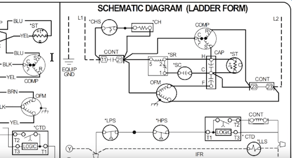 How to Read AC Schematics and Diagrams Basics - HVAC Wiring Diagram Hvac on