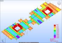 Barcode floor moment analysis in Robot