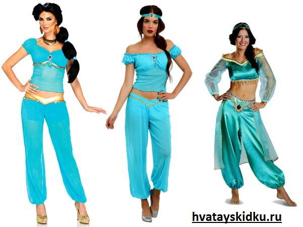 Костюм-принцессы-Виды-костюмов-принцессы-2